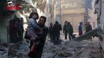 Συρία: Ερείπια και θρήνος μετά τις αεροπορικές επιδρομές στο Χαλέπι