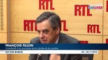Primaire à droite: François Fillon dénonce un ''déchaînement ridicule'' après avoir été comparé à Pétain par Pierre Bergé