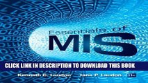 MOBI DOWNLOAD Essentials of MIS (11th Edition) PDF Ebook
