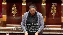Intervention de Maina Sage sur la PPL sur les communes associées de Polynésie française