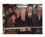 Inauguration du métro de Marseille par Gaston Defferre