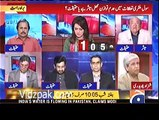 Clash between Imtiaz Alam and Shehzad Ch over relations with india