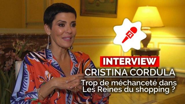 """Cristina Cordula : """"Je ne suis pas la maîtresse d'école dans Les reines du shopping"""""""
