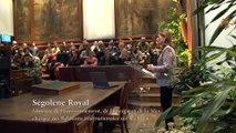 MNHN : échanges sur la biodiversité et son évolution entre chercheurs et scientifiques en présence de Ségolène Royal