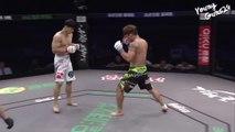 Ce combattant MMA a oublié qu'il ne fallait pas frapper à la tête un homme au sol. Violent le gars