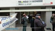 Gonesse : nouvelle manifestation des anti-EuropaCity