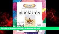 {BEST PDF |PDF [FREE] DOWNLOAD | PDF [DOWNLOAD] Frederic Remington (Getting to Know the World s