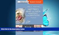 PDF [DOWNLOAD] Netter s Head and Neck Anatomy for Dentistry, 3e (Netter Basic Science) BOOK ONLINE