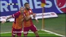Yasin Oztekin Goal HD - Galatasaray 1-1 Bursaspor - 25.11.2016