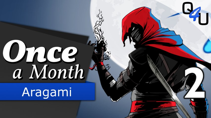 Aragami - Once a Month November 2016 (2/3) | QSO4YOU Gaming