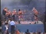 wcw NWO Hogan vs NWO Wolfpack vsGoldberg