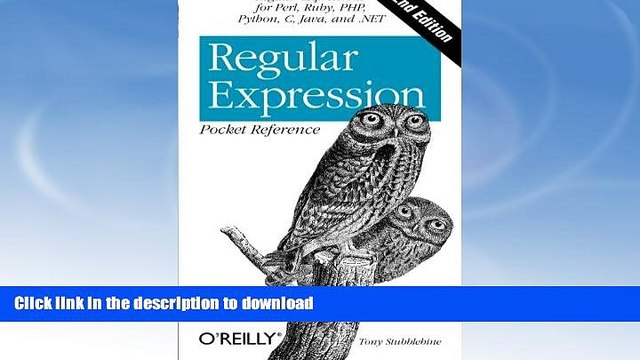 READ  Regular Expression Pocket Reference: Regular Expressions for Perl, Ruby, PHP, Python, C,