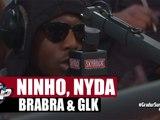 Freestyle de Ninho, Nyda, BraBra et GLK en live #PlanèteRap