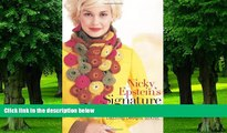 Buy NOW Nicky Epstein Nicky Epstein s Signature Scarves: Dazzling Designs to Knit  Audiobook