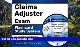 Buy Claims Adjuster Exam Secrets Test Prep Team Cl