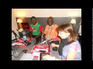 Steven Lavon,de Africa Top Sports, dans Radio Foot Internationale