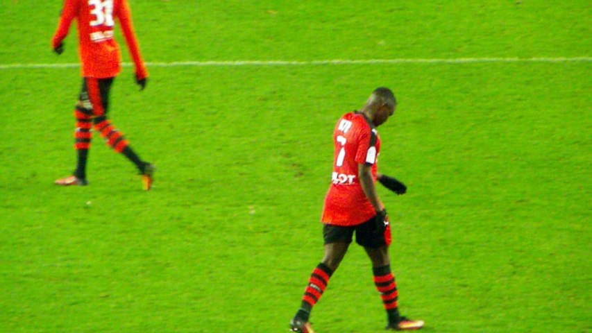 25/11/16 : SRFC-TFC : changement Henrique / Ntep (75')