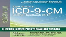[READ] Mobi ICD-9-CM Coding Handbook, with Answers, 2015 Rev. Ed. (ICD-9-CM Coding Handbook with