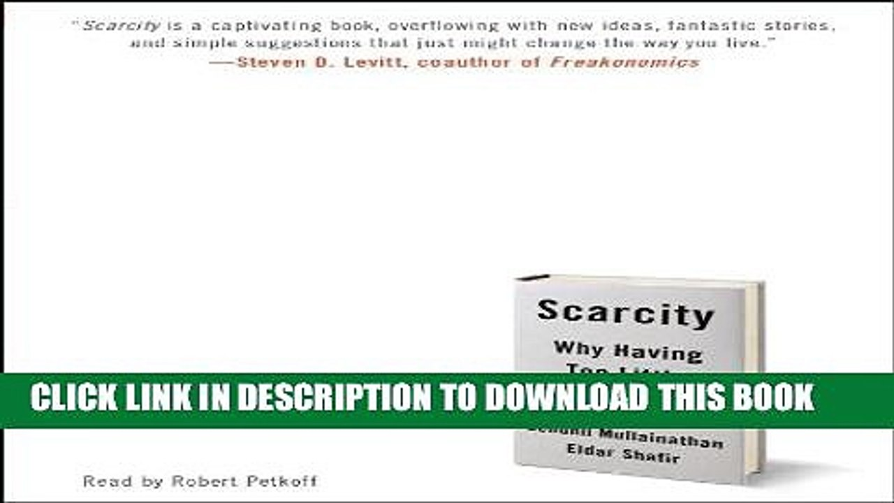 Pdf Scarcity Why Having Too Little Means So Much Popular Online Video Dailymotion