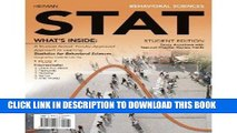 [READ] Mobi Behavioral Sciences STAT (with Review Cards and Psychology CourseMate with eBook