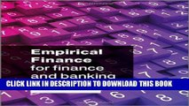 [PDF] Empirical Finance for Finance and Banking Full Online