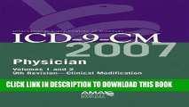 [READ] Kindle AMA ICD-9-CM Physician Compact Vol. 1   2 (Ama Physician Icd-9-Cm (Compact Edition))