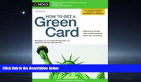 FAVORIT BOOK How to Get a Green Card Ilona Bray J.D. TRIAL BOOKS
