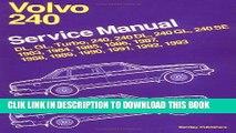 [PDF] Volvo 240 Service Manual 1983, 1984, 1985, 1986, 1987, 1988, 1989, 1990, 1991, 1992, 1993: