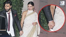 Ranveer Singh HOLDS Deepika Padukone's Hand Publicly At Ambani's Party