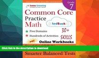READ  Common Core Practice - Grade 7 Math: Workbooks to Prepare for the PARCC or Smarter Balanced