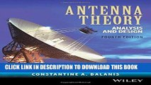 PDF Download] Antenna Theory: Analysis and Design 2nd Edition [PDF