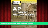 Audiobook Cracking the AP European History Exam, 2017 Edition: Proven Techniques to Help You Score