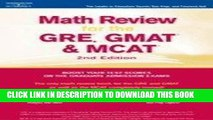 [PDF] Download Math Review: GRE, GMAT, MCAT 2nd ed (Peterson s GRE/GMAT Math Review) Full Kindle