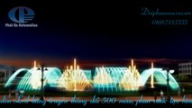 Thiết kế thi công mô hình đài phun nước, nhạc nước nghệ thuật