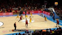 [HIGHLIGHTS] BASKET (Eurolliga): Galatasaray - FC Barcelona Lassa (78-64)