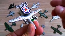 Learning Planes and Fighter Jet for Kids Disney Planes and Military Planes Toys Collection