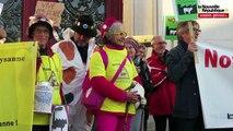 VIDEO. Poitiers : les opposants à la ferme-usine de Coussay-les-Bois manifestent