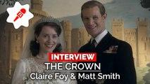 The Crown : comment Claire Foy et Matt Smith ont réussi à incarner le couple royal