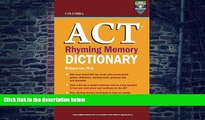 Best Price Columbia ACT Rhyming Memory Dictionary Richard Lee Ph.D. On Audio