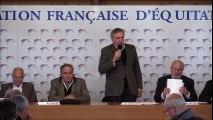 Serge Lecomte Réélu Président de la FFE