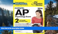 Online Princeton Review Cracking the AP Psychology Exam, 2014 Edition (College Test Preparation)