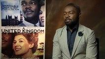 A United Kingdom: David Oyelowo is a 'hopeless romantic'