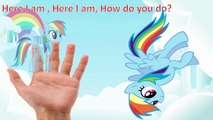 My Little Pony Finger Family Nursery Rhyme Song MLP Kids Songs Baby Learning Cartoon