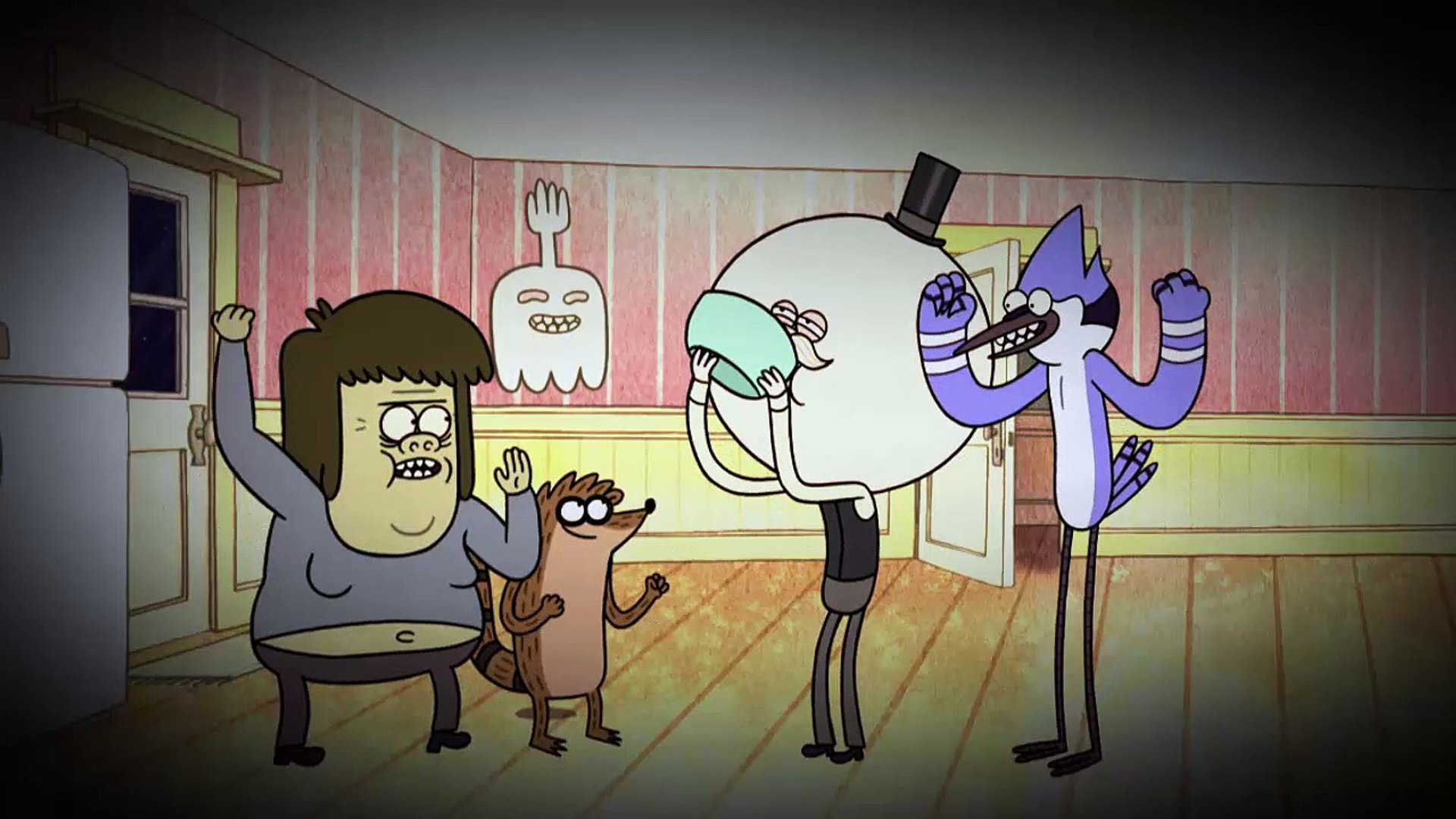 Regular Show s04e08 Guy's Night