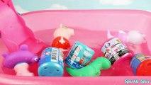 Peppa Pig and Secret Life of Pets Bath Tub Time Finger Paint Soap Orbeez, Colors, Toys Surprises