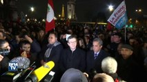 Mort de Fidel Castro: 200 personnes réunies à Paris avec Jean-Luc Mélenchon pour un hommage