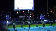 Open des Alpes de natation : les pom-pom girls des Alpes