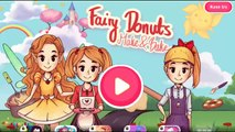 Baby Bake & Decorate Delicious Donuts with Fairy Donuts Make & Bake by Tutotoons Kids Games