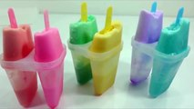 Surprise Toys Milk Stick Ice Cream Learn Colors Slime Toy nursery rhymes Ten In The Bed kids song