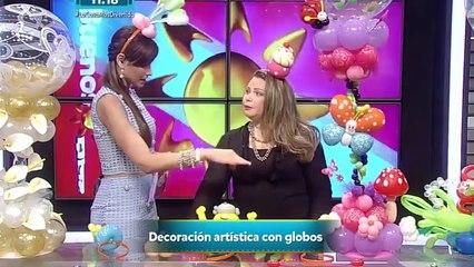 Entrevista TVN Panama Arteglobos Cursos en Globos